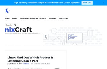 http://www.cyberciti.biz/faq/what-process-has-open-linux-port/