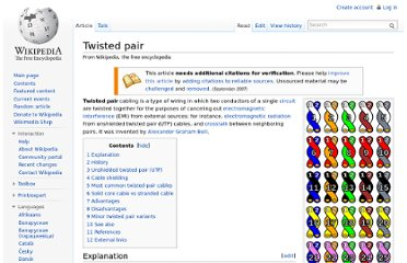 http://en.wikipedia.org/wiki/Twisted_pair