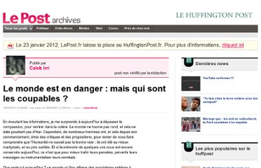 http://archives-lepost.huffingtonpost.fr/article/2011/03/16/2436982_le-monde-est-en-danger-mais-qui-sont-les-coupables.html