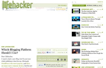 http://lifehacker.com/5878847/which-blogging-platform-should-i-use