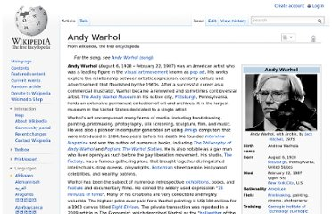 http://en.wikipedia.org/wiki/Andy_Warhol#Paintings