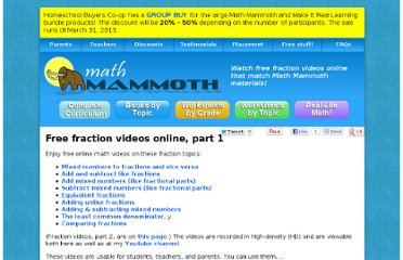 http://www.mathmammoth.com/videos/fractions_1.php