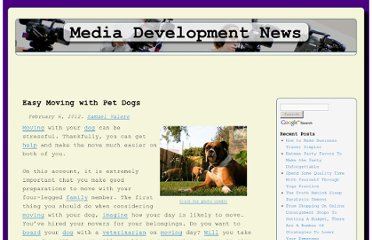 http://news.mediadevelopmentassociates.com/articles/easy-moving-with-pet-dogs
