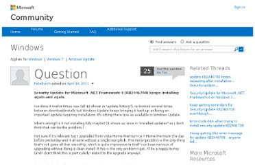 http://answers.microsoft.com/en-us/windows/forum/windows_7-windows_update/security-update-for-microsoft-net-framework-4/f7c1fbbb-8c66-e011-8dfc-68b599b31bf5