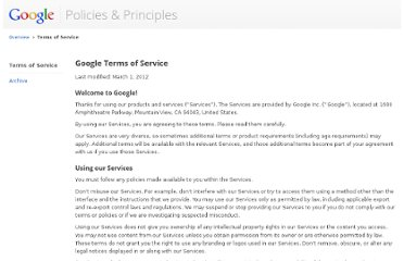 http://www.google.com/policies/terms/