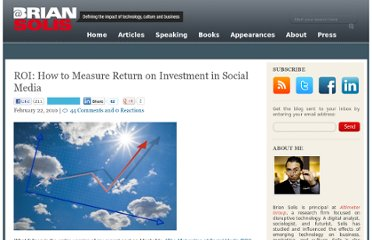 http://www.briansolis.com/2010/02/roi-how-to-measure-return-on-investment-in-social-media/