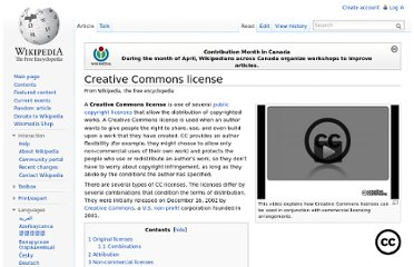 http://en.wikipedia.org/wiki/Creative_Commons_license