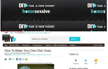 http://www.diylife.com/2009/08/03/how-to-make-your-own-dish-soap/