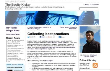 http://www.theequitykicker.com/2010/02/22/collecting-best-practices/