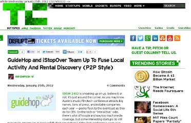 http://techcrunch.com/2012/01/25/guidehop-and-istopover-team-up-to-fuse-local-activity-and-rental-discovery-peer-to-peer-style/
