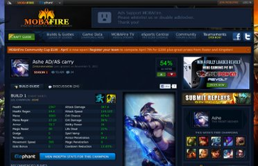 http://www.mobafire.com/league-of-legends/build/ashe-ad-as-carry-133091
