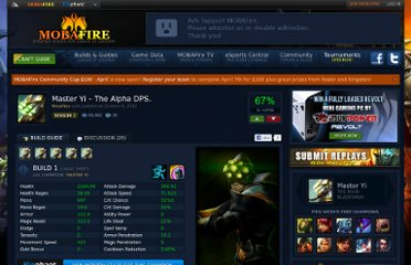 http://www.mobafire.com/league-of-legends/build/master-yi-the-alpha-dps-108143