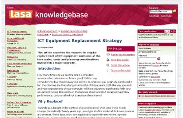 http://ictknowledgebase.org.uk/replacementstrategy