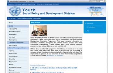 http://social.un.org/index/Youth/UNOpportunities/Internships.aspx