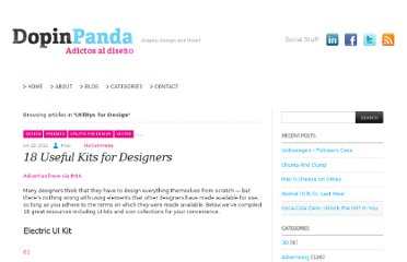 http://www.dopinpanda.com/blog/category/utilitys-for-design/