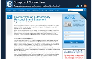 http://www.compukol.com/blog/how-to-write-an-extraordinary-personal-brand-statement/