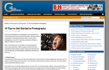 http://www.geekinspired.com/photography/10-tips-to-get-started-in-photography/