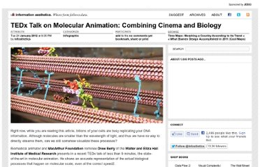 http://infosthetics.com/archives/2012/01/tedx_talk_on_molecular_animation_combining_cinema_and_biology.html