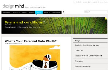 http://designmind.frogdesign.com/blog/what039s-your-personal-data-worth.html
