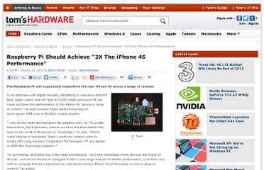 http://www.tomshardware.com/news/Raspberry-Pi-ARM-TEgra-iPhone-4S-Shader-PErformance,14555.html#xtor=RSS-1811