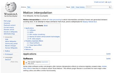 http://en.wikipedia.org/wiki/Motion_interpolation