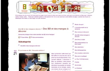 http://blogapart.bibliotheque.toulouse.fr/index.php?category/Des-BD-et-des-mangas-a-devorer