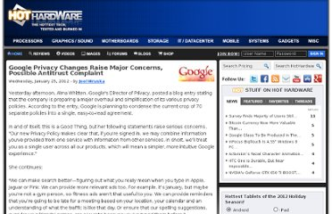 http://hothardware.com/News/Google-Privacy-Changes-Raise-Major-Concerns-Possible-Antitrust-Complaint/