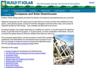 http://www.builditsolar.com/Projects/Sunspace/sunspaces.htm#GreenhouseHeat