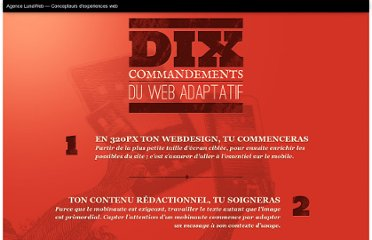 http://www.lunaweb.fr/labs/dix-commandements-du-web-design-adaptatif/