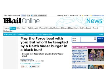 http://www.dailymail.co.uk/news/article-2082727/Darth-Vader-burger-French-fast-food-chain-reveals-Star-Wars-inspired-black-bun.html