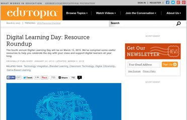 http://www.edutopia.org/digital-learning-technology-resources