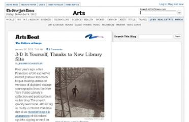 http://artsbeat.blogs.nytimes.com/2012/01/26/3-d-it-yourself-thanks-to-new-library-site/