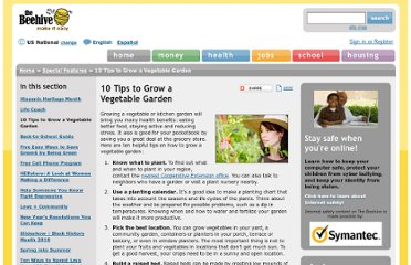 http://www.thebeehive.org/special-features/10-tips-grow-vegetable-garden?gclid=CKiHwvLr7a0CFYXsKgodigNA8g