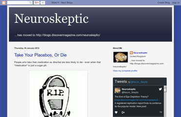 http://neuroskeptic.blogspot.com/2012/01/take-your-placebos-or-die.html