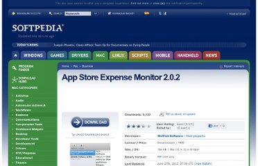 http://mac.softpedia.com/get/Business/App-Store-Expense-Monitor.shtml