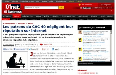 http://pro.01net.com/editorial/512919/les-patrons-du-cac-40-negligent-leur-reputation-sur-internet/