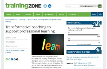 http://www.trainingzone.co.uk/topic/transformative-coaching-support-professional-learning/164312