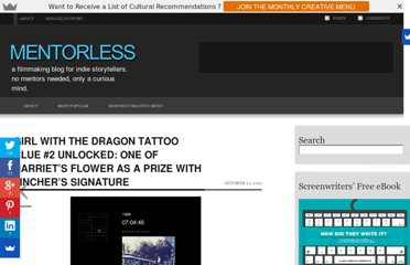 http://www.mentorless.com/2011/10/21/girl-with-the-dragon-tattoo-clue-2-unlocked-one-of-harriets-flower-as-a-prize-with-finchers-signature/