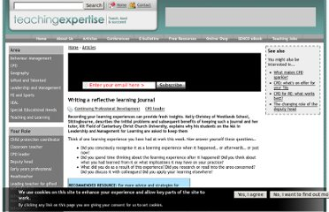http://www.teachingexpertise.com/articles/writing-reflective-learning-journal-642