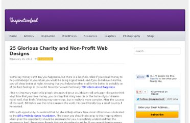 http://inspirationfeed.com/inspiration/websites-inspiration/25-glorious-charity-and-non-profit-web-designs/