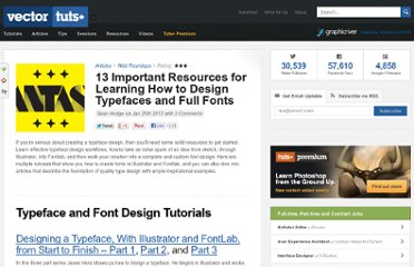http://vector.tutsplus.com/articles/web-roundups/how-to-design-typefaces-fonts/