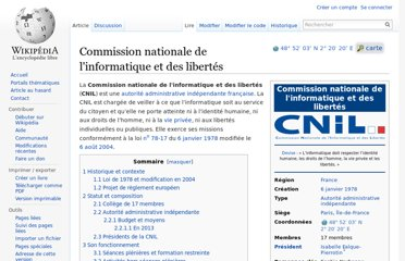 http://fr.wikipedia.org/wiki/Commission_nationale_de_l%27informatique_et_des_libert%C3%A9s