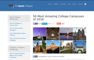 http://www.thebestcolleges.org/most-beautiful-campuses/