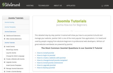 http://www.siteground.com/tutorials/joomla/
