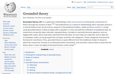 http://en.wikipedia.org/wiki/Grounded_theory