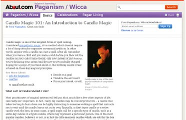 http://paganwiccan.about.com/od/bookofshadows/a/Candle_Magic.htm
