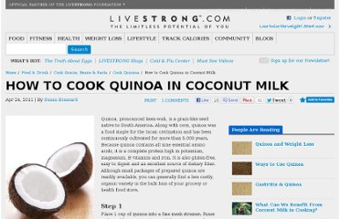 http://www.livestrong.com/article/427390-how-to-cook-quinoa-in-coconut-milk/