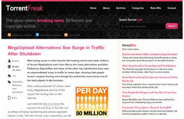 http://torrentfreak.com/megaupload-alternatives-see-surge-in-traffic-after-shutdown-120126/