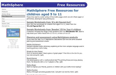 http://www.mathsphere.co.uk/resources/