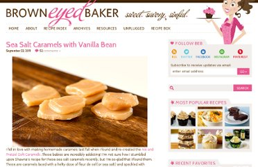 http://www.browneyedbaker.com/2011/09/22/sea-salt-caramels-with-vanilla-bean/